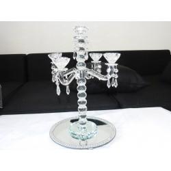 Chandelier cristal H40