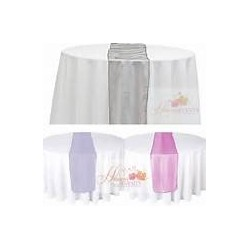 Chemin de table organza